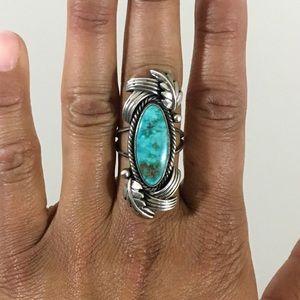Vintage | Navajo Turquoise Ring